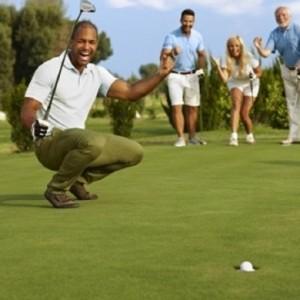 【ゴルフ接待講座その3】かけ声の仕方とバリエーションについて