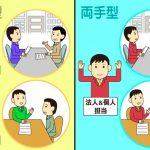 転職エージェントの両面型と分業型の違いとメリットデメリット