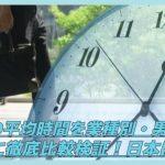 【働きすぎ?】残業の平均時間を業種別・男女別・国別に徹底比較